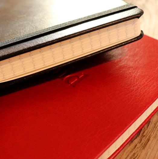Black and Red Castelli Sherwood Notebooks