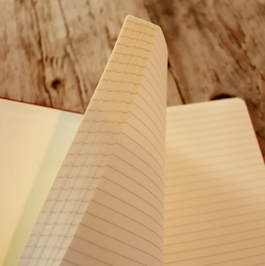 Lined Pages of Sherwood Notebooks