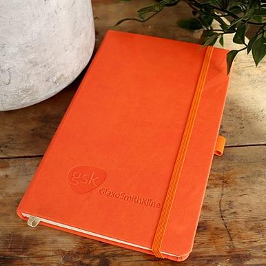 Blind Debossed GSK Castelli Tucson Notebook