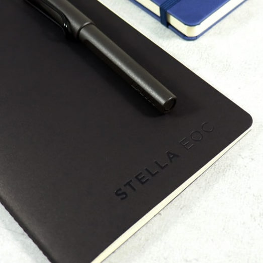 Singer Stitched Notebooks with customisation