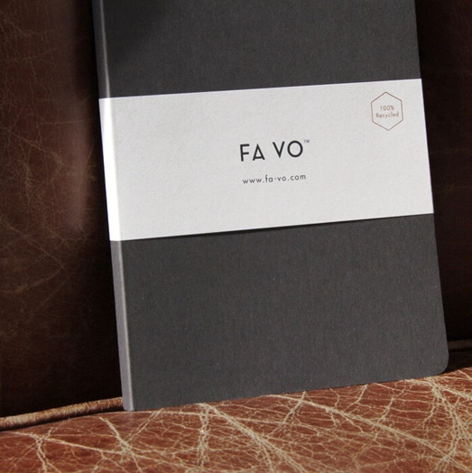 FA VO 100% Recycled Notebooks