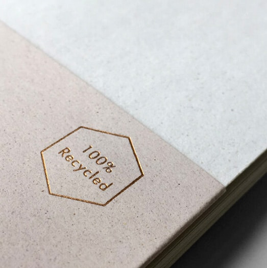 100% Recycled Notebooks