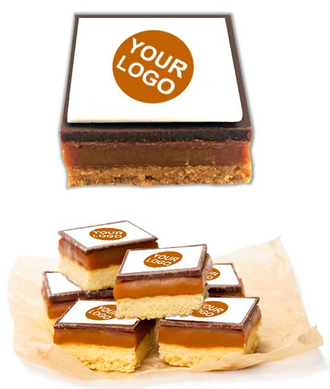 Branded Caramel Shortbread