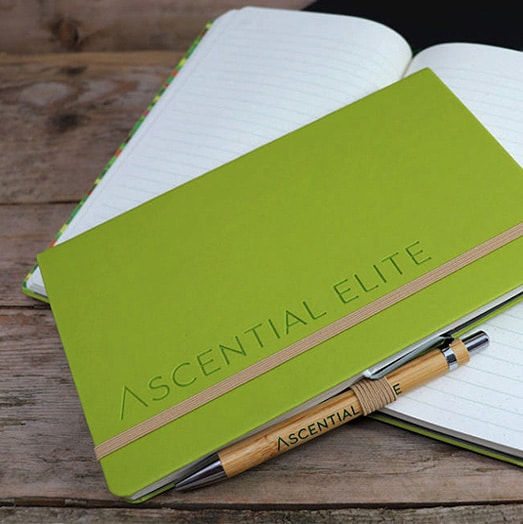 Branded Ascential Green Castelli Tucson Notebook
