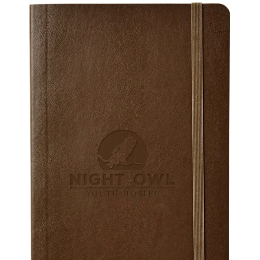 Moleskine Classic Softover Journal with Blind Debossed Branding