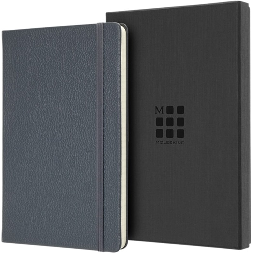 Moleskine Leather Notebook with Branded Gift Box