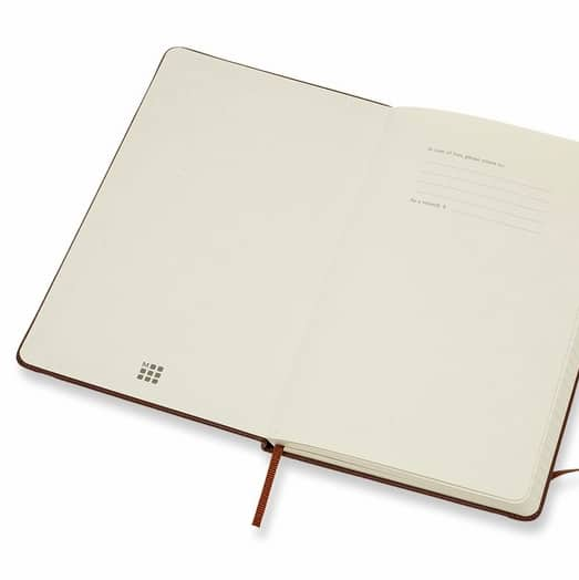 Moleskine Classic Leather Notebook