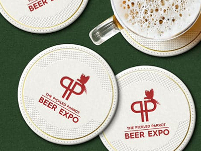 Branded Beer Mats
