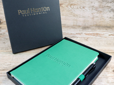Branded Notebook Corporate Gift Sets