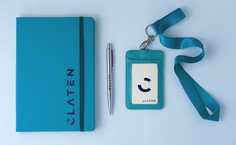 Logo Notebooks & Lanyards
