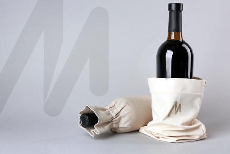 Branded Wine Bottle Bag