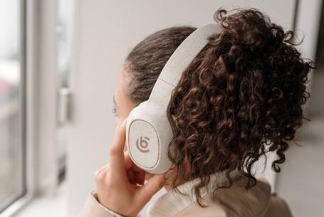 Branded Eco Headphones