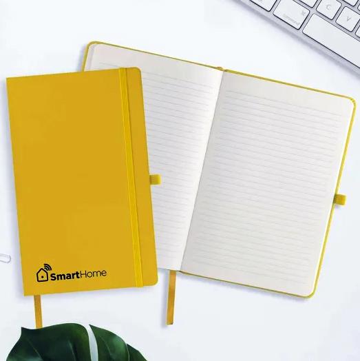 Page Insert in Orange Castelli Tucson Notebook