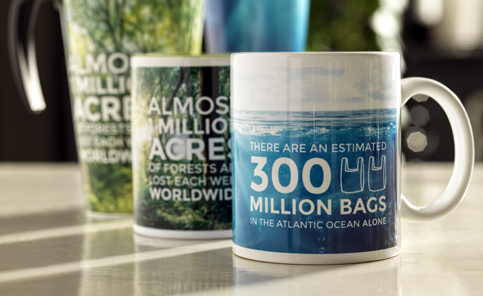 Product Launch Branded Mugs
